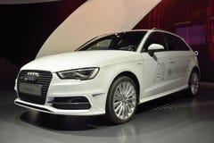 Carro de Audi A3 e-Tron Fotos de Stock Royalty Free