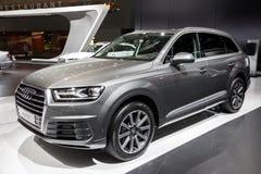 Carro de Audi Q7 SUV foto de stock royalty free