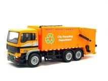 Carro de basura Imagen de archivo libre de regalías