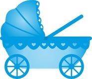 Carro de bebé Stock de ilustración