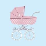 Carro de bebé. Foto de archivo libre de regalías