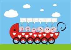 Carro de bebé Imágenes de archivo libres de regalías