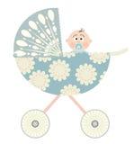 Carro de bebê ilustração do vetor