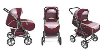 Carro de bebê Fotografia de Stock