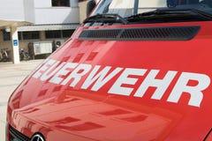 Carro de bombeiros, Áustria Fotografia de Stock