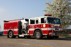 Carro de bombeiros - Bradley, Illinois Fotografia de Stock