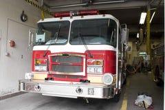 Carro de bombeiros brandnew Fotografia de Stock