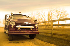 Carro de bombeiros clássico Imagem de Stock Royalty Free