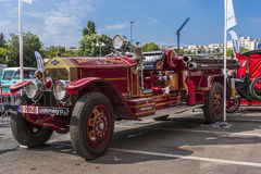 Carro de bombeiros de LaFrance do americano Imagens de Stock Royalty Free
