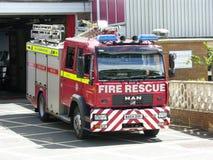 Carro de bombeiros inglês Fotografia de Stock