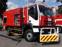 Carro de bombeiros poderoso Imagem de Stock Royalty Free