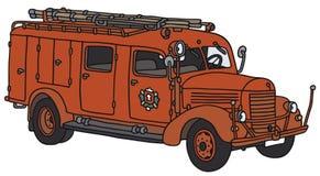 Carro de bombeiros velho Imagens de Stock Royalty Free