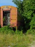 Carro de cabine perdido do trem fotos de stock