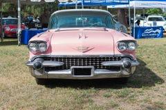 Carro de Cadillac Fleetwood na exposição imagem de stock royalty free