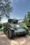 Carro de combate leve de M5A Fotografia de Stock Royalty Free