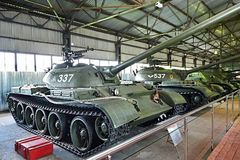 Carro de combate médio soviético T-54 1949 Imagem de Stock Royalty Free