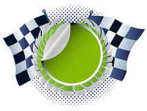 Carro de competência Imagens de Stock Royalty Free