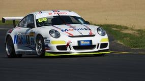 Carro de competência de Porsche GT3 fotografia de stock royalty free