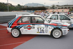 Carro de competência do delta s4 de Lancia Fotografia de Stock Royalty Free