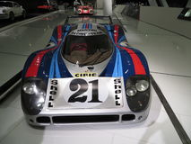 Carro de competência do LH de Porsche 917 Front View Foto de Stock