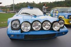 Carro de competência dos stratos de Lancia fotos de stock royalty free