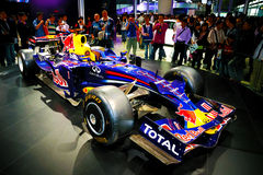 Carro de competência de Infiniti F1 Fotos de Stock Royalty Free