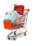 Carro de compra #10 Imagem de Stock Royalty Free