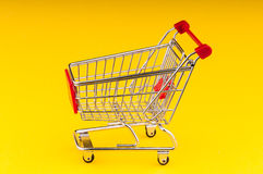 Carro de compra Fotos de Stock