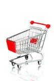 Carro de compra vazio Imagens de Stock