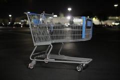 Carro de compras Foto de archivo