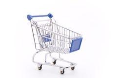 Carro de compras Fotos de archivo libres de regalías