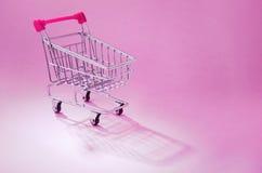 Carro de compras Imagen de archivo libre de regalías