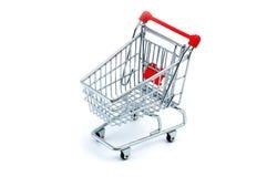 Carro de compras Fotografía de archivo libre de regalías