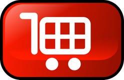 Carro de compras Imágenes de archivo libres de regalías