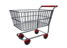Carro de compras B Fotografía de archivo libre de regalías