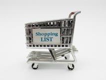 Carro de compras II Fotografía de archivo libre de regalías
