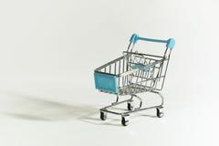 Carro de compras vacío Fotografía de archivo libre de regalías