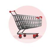 Carro de compras Venta del supermercado Alameda Ilustración del vector Imagen de archivo