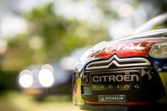 Carro de controle remoto, WRC Fotos de Stock