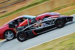 Carro de corrida Fotos de Stock Royalty Free