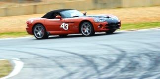 Carro de corrida Imagens de Stock Royalty Free