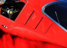 Carro de corrida clássico do italiano dos anos 50 Imagem de Stock
