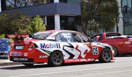 Carro de corridas. Imagem de Stock