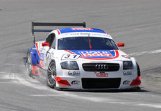 Carro de corridas Audi TT-R DTM imagens de stock royalty free