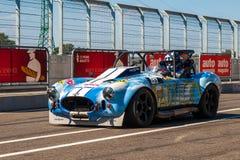Carro de corridas clássico da cobra da C.A. Fotografia de Stock Royalty Free