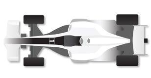 Carro de corridas da fórmula ilustração stock