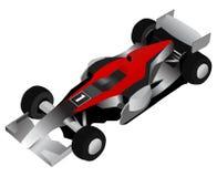 Carro de corridas da fórmula ilustração royalty free