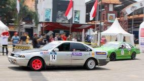 Carro de corridas da tração Imagem de Stock