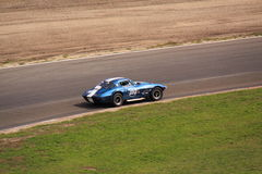 Carro de corridas de alta velocidade do oldtimer Fotografia de Stock Royalty Free