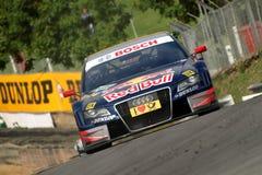 Carro de corridas de Audi A4 DTM Fotografia de Stock